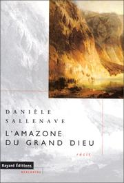 Cover of: L' Amazone du grand Dieu