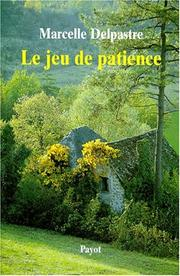Cover of: Le jeu de patience