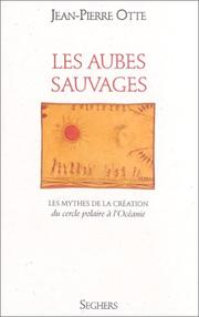 Cover of: Les aubes sauvages