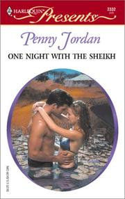 Cover of: One Night With The Sheikh (Arabian Nights) (Harlequin Presents, 2332) | Penny Jordan