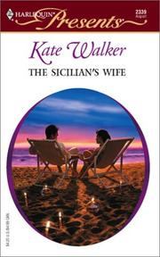 Cover of: The Sicilian's wife