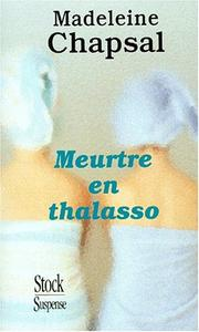 Cover of: Meurtre en thalasso