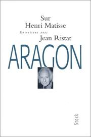 Cover of: Sur Henri Matisse
