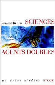 Cover of: Sciences agents doubles