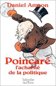 Cover of: Poincare