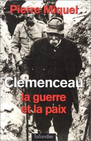 Cover of: Clémenceau