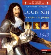 Cover of: Louis XIII