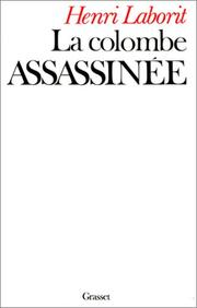 Cover of: La colombe assassinée