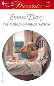 Cover of: The outback marriage ransom