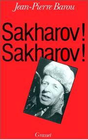 Cover of: Sakharov! Sakharov!