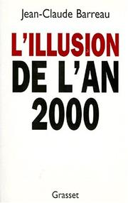 Cover of: L' illusion de l'an 2000