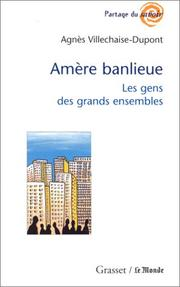 Cover of: Amère banlieue