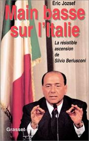 Cover of: Main basse sur l'Italie