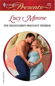 Cover of: The Billionaire's Pregnant Mistress | Lucy Monroe