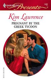 Cover of: Pregnant By The Greek Tycoon
