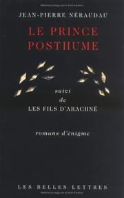 Cover of: Le prince posthume