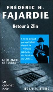 Cover of: Retour à Zlin