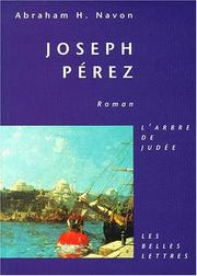 Cover of: Joseph Pérez
