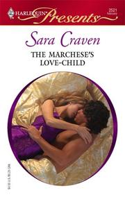 Cover of: The Marchese's Love-Child | Sara Craven