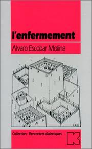 Cover of: L' enfermement
