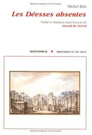 Cover of: Les déesses absentes