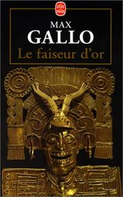 Cover of: Le faiseur d'or