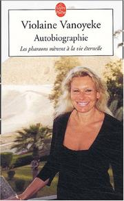Cover of: Autobiographie