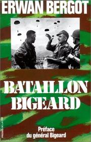Cover of: Bataillon Bigeard