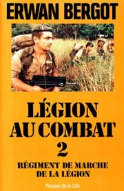 Cover of: Régiment de marche de la Légion
