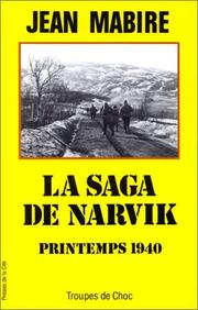 Cover of: La saga de Narvik