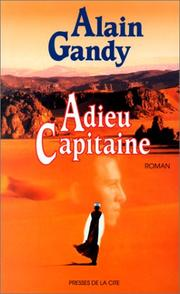 Cover of: Adieu, capitaine