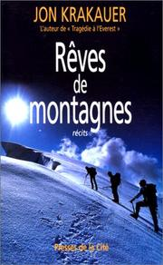Cover of: Rêves de montagnes