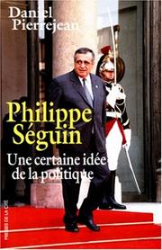Cover of: Philippe Séguin