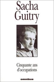 Cover of: Cinquante ans d'occupations