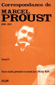 Cover of: Marcel Proust, selected letters, 1880-1903