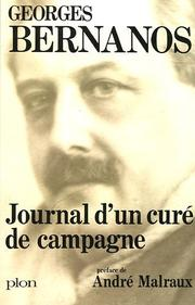 Cover of: Journal d'un Cure de Campagne