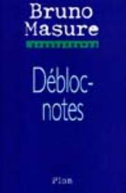 Cover of: Débloc-notes