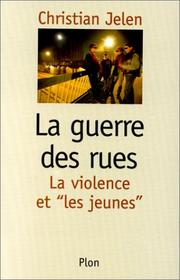 Cover of: La guerre des rues