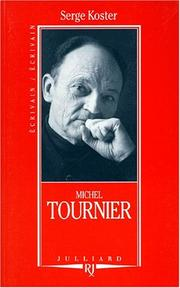 Cover of: Michel Tournier