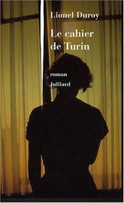 Cover of: Le cahier de Turin