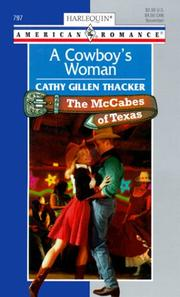 Cover of: Cowboy'S Woman (The Mccabes Of Texas)