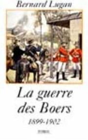 Cover of: La guerre des Boers