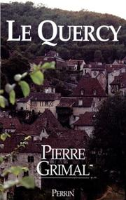 Cover of: Le Quercy