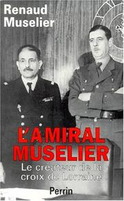 Cover of: L' amiral Muselier