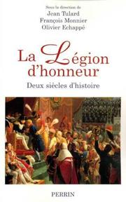 Cover of: La Légion d'honneur