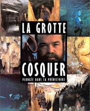 Cover of: La grotte Cosquer