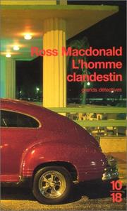 Cover of: L'Homme clandestin