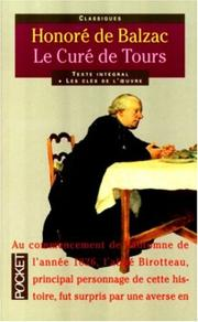 Cover of: Le curé de Tours