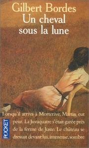 Cover of: Cheval sous la lune