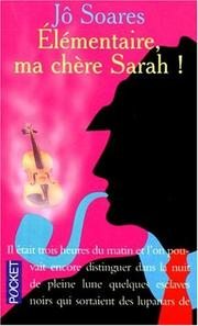 Cover of: Elementaire MA Chere Sarah
